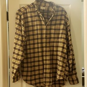 Men's J Crew flannel shirt